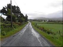 B8227 : Road at Stramartin by Kenneth  Allen