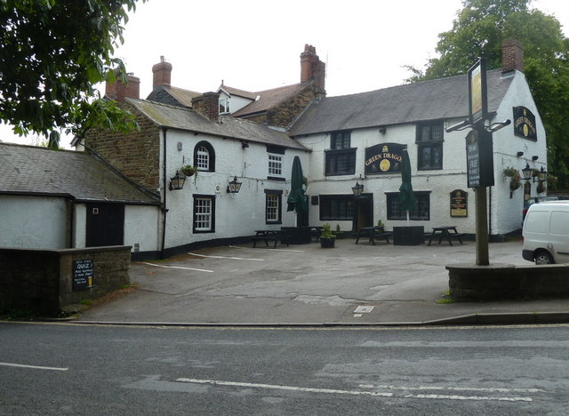 The Green Dragon pub, Dronfield