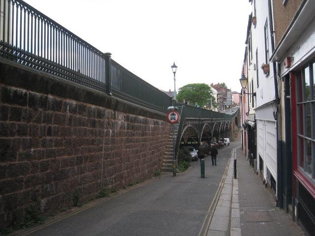 Iron Bridge, Lower North Street