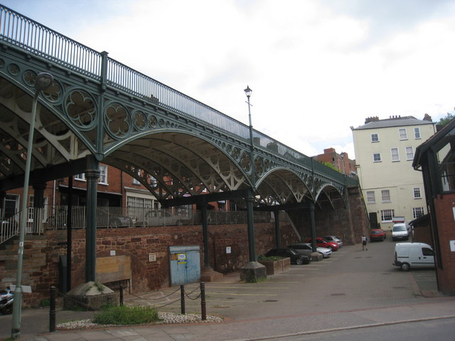 Iron Bridge, Lower North Street (2)