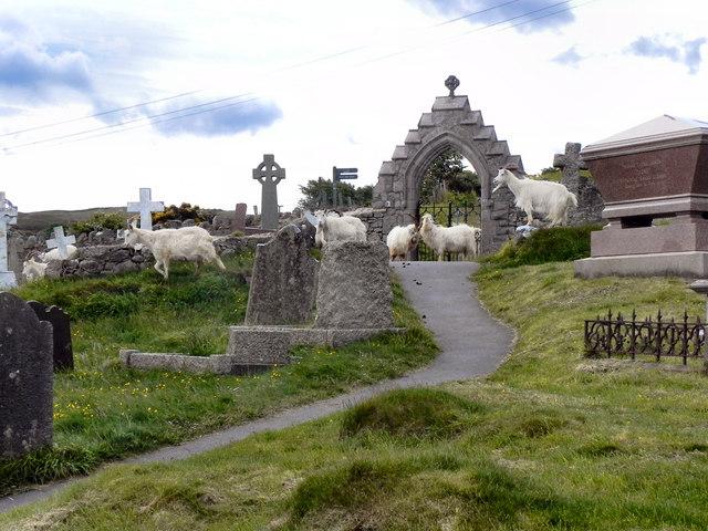 St Tudno's Churchyard