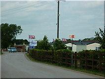 SE7811 : Upside down Union Flags #17 & 18 by Ian S