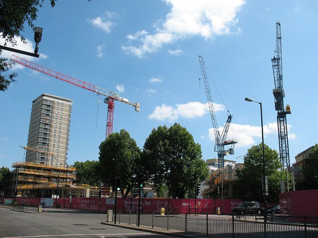 Bermondsey Spa development