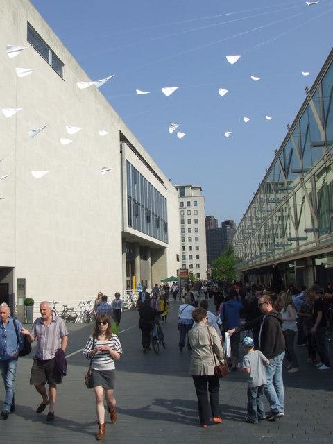 Walkway by Royal Festival Hall
