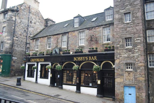 Greyfriars Bobby's Bar