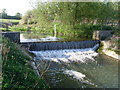 SP6634 : Weir at Tingewick Mill, Bucks by David Hillas