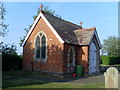 SP6533 : Chapel at Tingewick Cemetery by David Hillas