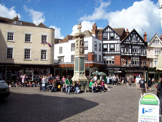What Degrees Is It Outside >> The Butter Market square outside of... © Len Williams ...