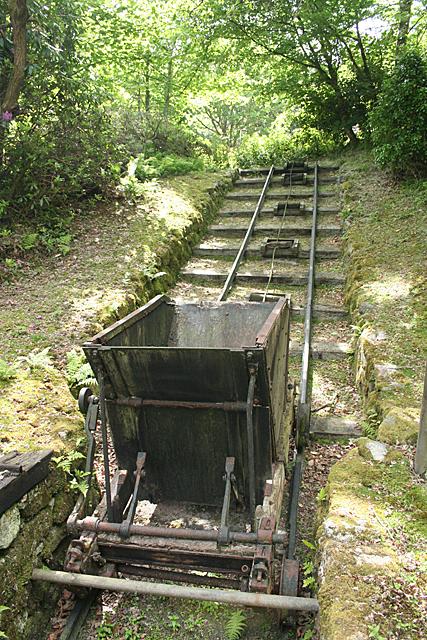 Treverbyn: replica inclined plane