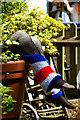 TQ2754 : Patriotic Leg-warmers by Peter Trimming