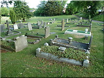 SU5707 : Wickham Road Cemetery (10) by Basher Eyre