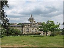 SE7170 : Castle Howard, a view over the Boar Garden by Pauline E