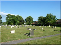 SU5707 : Wickham Road Cemetery (12) by Basher Eyre