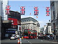 TQ2980 : Regent Street and Piccadilly Circus by Malc McDonald