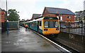 ST1871 : Penarth station in the rain by roger geach