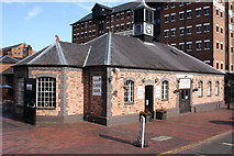 SO8218 : Coots Cafe, Gloucester Docks by Colin Manton