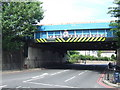 TQ3973 : Bridge over the South Circular Road at Lee by Malc McDonald