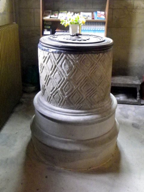Font, St Eloy's Church