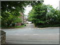 SU4410 : Looking from Holy Trinity Churchyard over to Barnfield Court by Basher Eyre