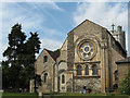 TL3800 : Waltham Abbey church, east end by Stephen Craven