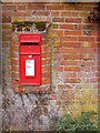 TM3050 : School Lane Postbox by Adrian Cable