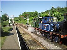 TQ3729 : Preparing to head north from Horsted Keynes by Marathon
