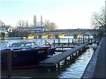 SU7682 : River Thames at Henley upon Thames by nick macneill