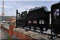 J3272 : Train sculpture, Belfast (2) by Albert Bridge