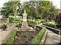 SD9324 : Patmos War Memorial and Memorial Gardens by David Dixon