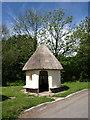 SS8518 : Pump house, Rackenford by Derek Harper