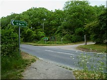 TQ2912 : The South Downs Way National Trail crosses the A273 at Pyecombe Golf Club by Shazz