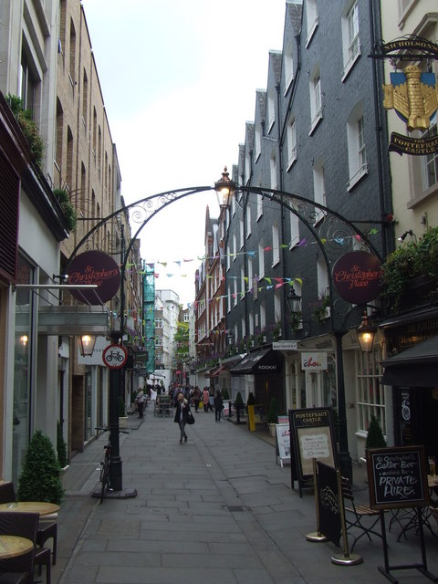 St. Christopher's Place, W1