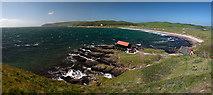 NR6807 : Dunaverty Bay Panorama (2) by Steve Partridge