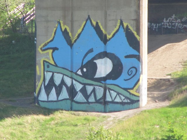Graffiti on the Viaduct