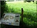 SO5473 : Interpretation board at Caynham Camp by Jeremy Bolwell