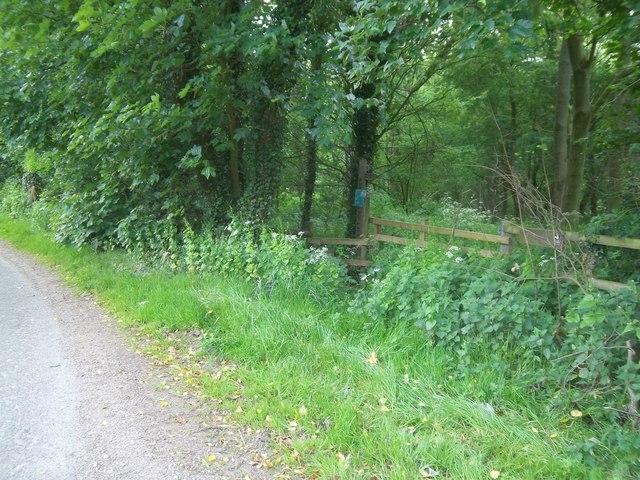 Start of footpaths