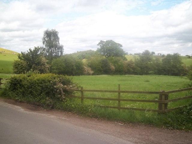 Derbyshire farmland