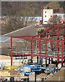 TL4855 : Rebuilding Netherhall School by John Sutton
