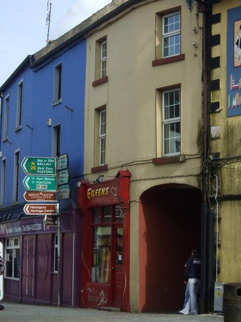Junction of Main Street and Market Street, Swinford