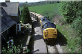 ST2388 : Passing the Old station House at Lower Machen by roger geach