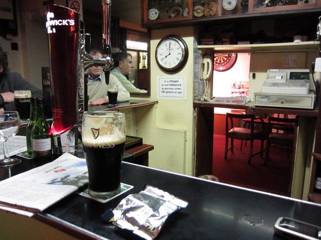 Guiry's: interior of the pub