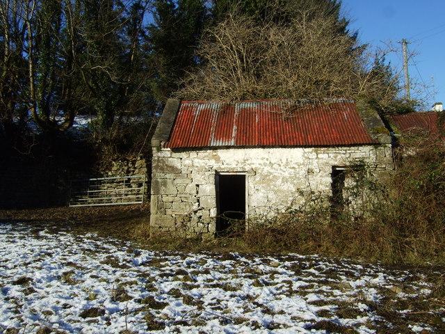 Toomore: derelict farm building
