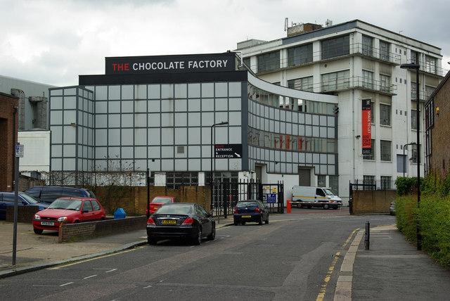 Chocolate Factory No 1 Wood Green Julian Osley Cc By Sa
