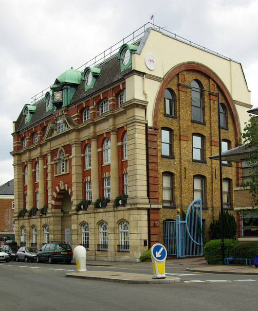 Late Victorian office building in the Baroque style, Wood Green