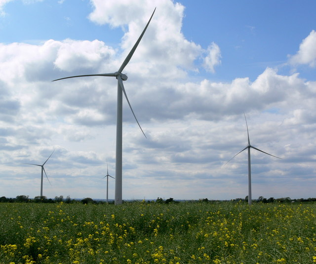 Low Spinney Wind Farm by Mat Fascione