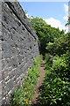 SX4157 : Old railway line, near Antony Passage by Kate Jewell