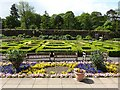 SE3238 : Parterre, Roundhay Park by Oliver Dixon