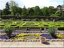 SE3238 : Parterre, Roundhay Park by Oliver Dixon