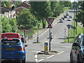 SP0277 : Rednal Road From Lilley Lane With Redhill Road Crossing by Roy Hughes