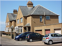 NT6779 : East Lothian Architecture : Houses in Marine Road, Dunbar by Richard West